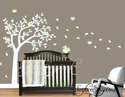 Tree Decal For Nursery Wall Baby Wall Decorations Nursery Wall Decals Baby One Color Summer