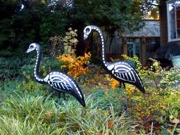 Halloween Decorations Skeleton Bones by Halloween Garden Decorations Ideas With Skeletons Skulls And