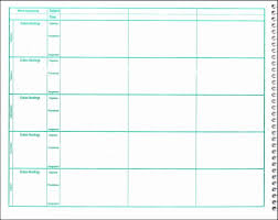 teacher weekly lesson plan template expin franklinfire co