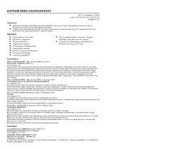 Resume Samples For Teacher by Uncategorized Solution Architect Profile Lecturer Cv Template