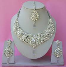 indian wedding necklace sets images Beautiful hand crafted bollywood indian wedding jewellery necklace jpg