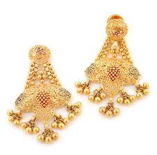 beautiful gold earrings beautiful wedding gold earrings 2014003 stylehitz