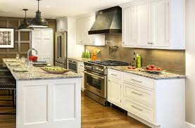 interesting contemporary kitchen cabinet designs brushed nickel