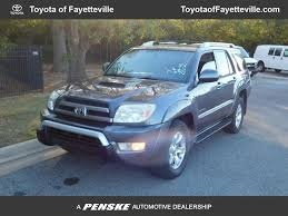 used 2003 toyota 4runner 2003 used toyota 4runner 4dr sr5 sport v6 automatic at toyota of