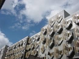contemporary scottish architecture floor plans imanada parliament