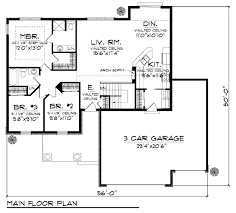 House Plans Craftsman Craftsman Style House Plan 3 Beds 2 00 Baths 1351 Sq Ft Plan 70