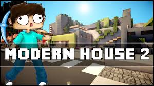 minecraft modern house 2 youtube