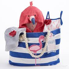 nautical tote 4 fancy flamingo baby gifts that are for summer baby