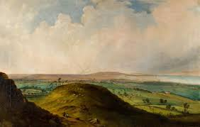 view of sunderland from the tunstall hills art uk