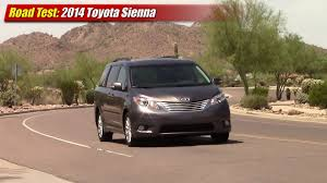 toyota awd cars road test 2014 toyota sienna awd youtube