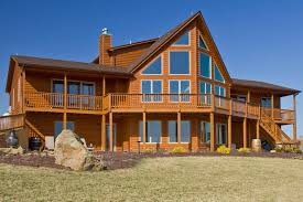 log home styles photos