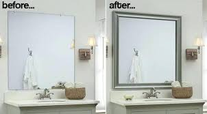 framing bathroom mirrors with crown molding frame bathroom mirror with crown molding mirror white architectural