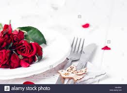 romantic table setting stock photo royalty free image 130952583