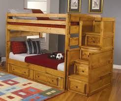 Solid Wood Bunk Beds With Storage Make Yourself Comfortable Built In Bunk Beds Adorable Built In