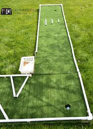 Backyard Golf Games Diy Mini Golf As Designed By 6 And 9 Year Olds 100 Things 2 Do