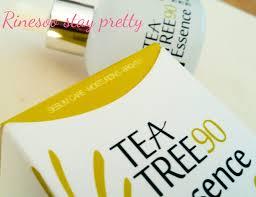 review lee ji ham tea tree 90 essence stay pretty and be happy