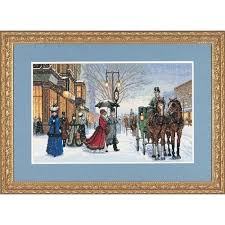 gold collection alan maley s gracious era counted cross stitch kit