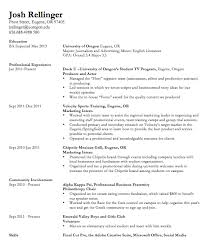 College Job Resume by Tremendous College Resumes 3 First Job Resume Example Writing With