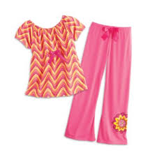zigzag pajamas for american