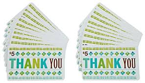 Thank You Card Designs Amazon Com Amazon Com 5 Gift Cards Pack Of 20 Thank You Card