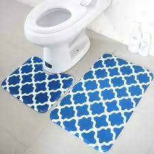 Blue Bathroom Rugs Beautiful Rustic Blue Bath Rugs Target Helkk Com
