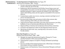 Resume Worker Example Of Social Work Resume Resume Example And Free Resume Maker