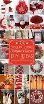 100 dollar store christmas decor diy ideas dollar store