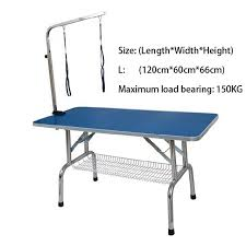 large dog grooming table l size fordable pet grooming table large pet dog grooming stainless