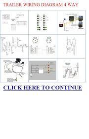 trailer wiring diagram 4 way diagram 4 way trailer wiring