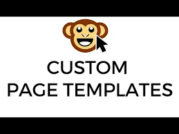 search result youtube video wordpress page template
