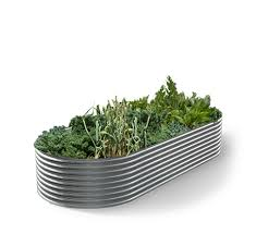 Corrugated Metal Garden Beds Garden Decor Corrugated Steel Garden Beds Or Re Purposed Cattle