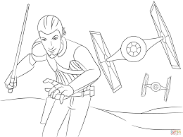 star wars rebels kanan coloring pages png 2046 1526 lineart