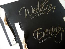 and black wedding invitations black wedding invitations and matching stationery i do designs