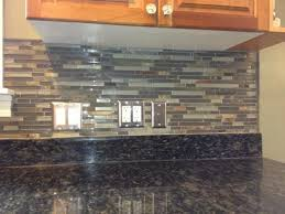 Rusty Brown Slate Mosaic Backsplash by Glass And Slate Tile Backsplash Roselawnlutheran