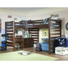 l shaped loft bunk beds foter