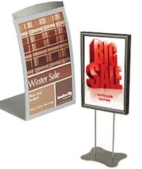 table tent sign holders table tents counter tabletop menu or sign holders