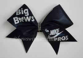 cheer bow cheer bow cheerleading all big bows and nike