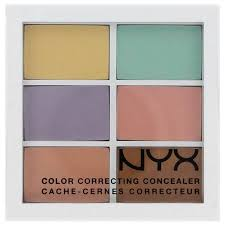nyx colour correcting concealer palette nyx color correcting concealer palette brigettes boutique