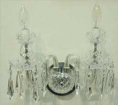 Crystal Wall Sconces Sconce Waterford Crystal Wall Sconces Zoom Waterford Crystal