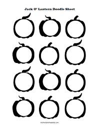 doodle 4 blank sheet o lantern doodle sheets 3 free printables