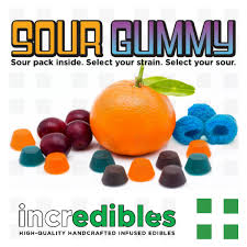 incredibles edibles incredibles sour gummy 100mg frosted leaf colfax