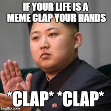 Clapping Meme - kimmy clapping imgflip