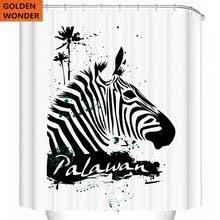 Fashion Shower Curtains Popular Zebra Shower Curtain Buy Cheap Zebra Shower Curtain Lots