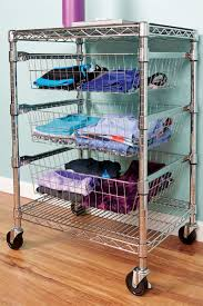 Wire Shelf Cart 41 Best Industrial Post Wire Shelving Images On Pinterest Wire
