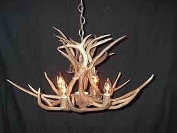making a deer antler chandelier fake deer antler chandelier