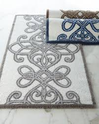 designer bathroom rugs bath rugs designer bath mats bathroom mats at horchow