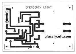 cheap emergency light circuit using d313 eleccircuit com
