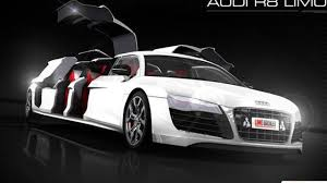 first audi limo broker announces world u0027s first audi r8 stretch limo video