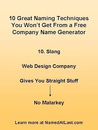 Design Firm Names 11 Best 10 Creative Company Naming Techniques Images On Pinterest