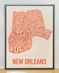 New Orleans Districts Map by New Orleans Neighborhood Map 18